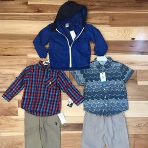 Penguin , Gymboree, and US Polo 3T pack